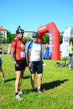 Vilnius miasta wydarzenia sportowego Vilnius otwarty wyzwanie zdjęcie stock