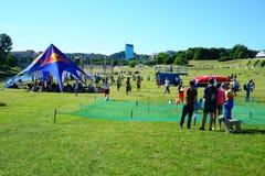 Vilnius miasta wydarzenia sportowego Vilnius otwarty wyzwanie fotografia royalty free