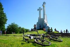 Vilnius miasta wydarzenia sportowego Vilnius otwarty wyzwanie zdjęcia stock
