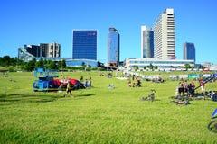 Vilnius miasta wydarzenia sportowego Vilnius otwarty wyzwanie obrazy stock
