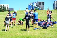 Vilnius miasta wydarzenia sportowego Vilnius otwarty wyzwanie zdjęcie royalty free