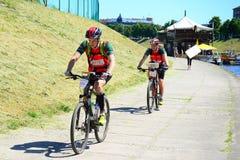 Vilnius miasta wydarzenia sportowego Vilnius otwarty wyzwanie zdjęcia royalty free