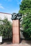 vilnius Monumento al compositor Stanislaw Moniuszko imágenes de archivo libres de regalías