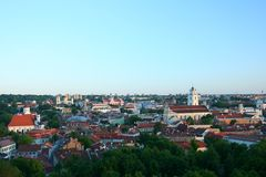 Vilnius through my eyes_4 royalty free stock photography