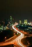 Vilnius nella notte Immagine Stock