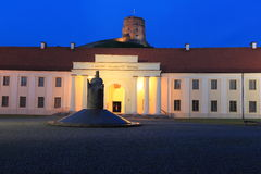 Vilnius at night Stock Photography
