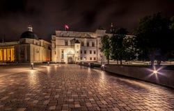 Vilnius at night Royalty Free Stock Photography