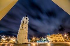 Vilnius night scene Stock Photo