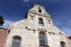 Vilnius old church Royalty Free Stock Photos