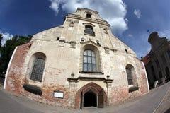 The Vilnius old church Stock Image