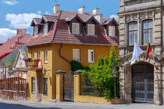 Vilnius. Old city. royalty free stock image