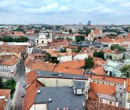 Vilnius old town Stock Images