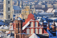Vilnius old town Stock Photos