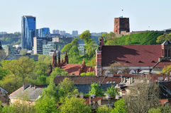 Vilnius old town Stock Image