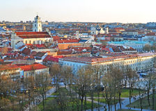 Vilnius old town Stock Photography
