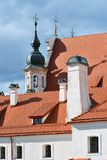 Vilnius old town details. The Old Town of Vilnius one of the largest surviving medieval old towns in Northern Europe royalty free stock images