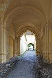 Vilnius old town gate Royalty Free Stock Images