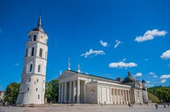 The Vilnius Old Town, Lithuania royalty free stock photos