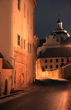 Vilnius old town  at night Royalty Free Stock Images