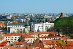 Vilnius Old Town. Palace of the Grand Dukes Royalty Free Stock Photography
