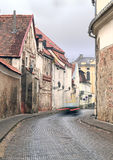 Vilnius old town street Royalty Free Stock Photo