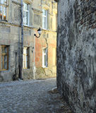 Vilnius Old Town Street Royalty Free Stock Images