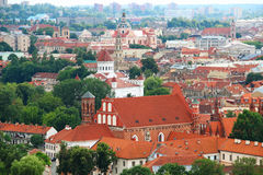 Vilnius old town Royalty Free Stock Image
