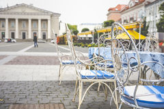 Vilnius oldtown street ,Lithuania Royalty Free Stock Photography