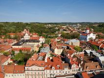 Vilnius - one of ancient european cities Royalty Free Stock Photo