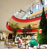 Vilnius Ozas schopping house centre internal view Royalty Free Stock Image