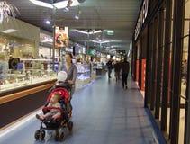 Vilnius Ozas schopping house Royalty Free Stock Photos