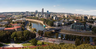 Vilnius panorama Royalty Free Stock Images
