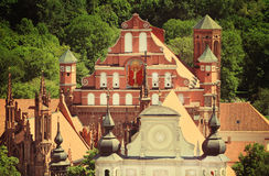 Vilnius panorama Royaltyfri Fotografi