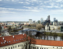 Vilnius panorama Royalty Free Stock Photography
