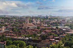 Vilnius panorama. Panorama of the Old Town in Vilnius - capital of Lithuania Royalty Free Stock Image
