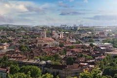 Vilnius panorama Royalty Free Stock Image