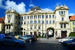 Vilnius Philharmonic facade on morning time Royalty Free Stock Photo