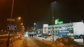 Vilnius Pilaite, χρυσαλίδες λεωφόρων Στοκ Εικόνα
