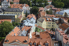 Vilnius roof tops Royalty Free Stock Photo