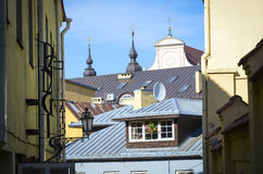 Vilnius roof tops Stock Photography