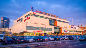 Vilnius shopping centre Stock Images