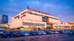 Vilnius shopping centre Stock Images