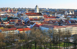 Vilnius skyline Royalty Free Stock Image