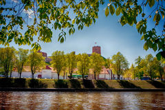 Vilnius in the spring sunshine Stock Image