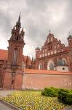Vilnius-Stadt churchs Lizenzfreies Stockbild