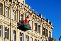 Vilnius-Stadthauptstadt der Litauen-Mitteansicht Stockbild