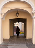 Vilnius streets Royalty Free Stock Image
