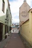 Vilnius streets Royalty Free Stock Photo