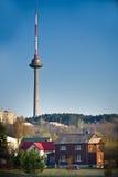 Vilnius television tower Stock Photo