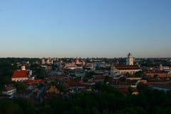 Vilnius till och med min eyes_6 arkivbilder